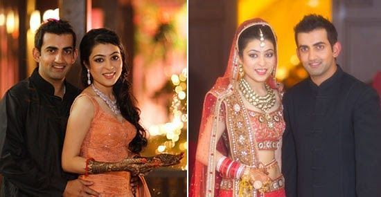 Gautam Gambhir's Marriage Photo
