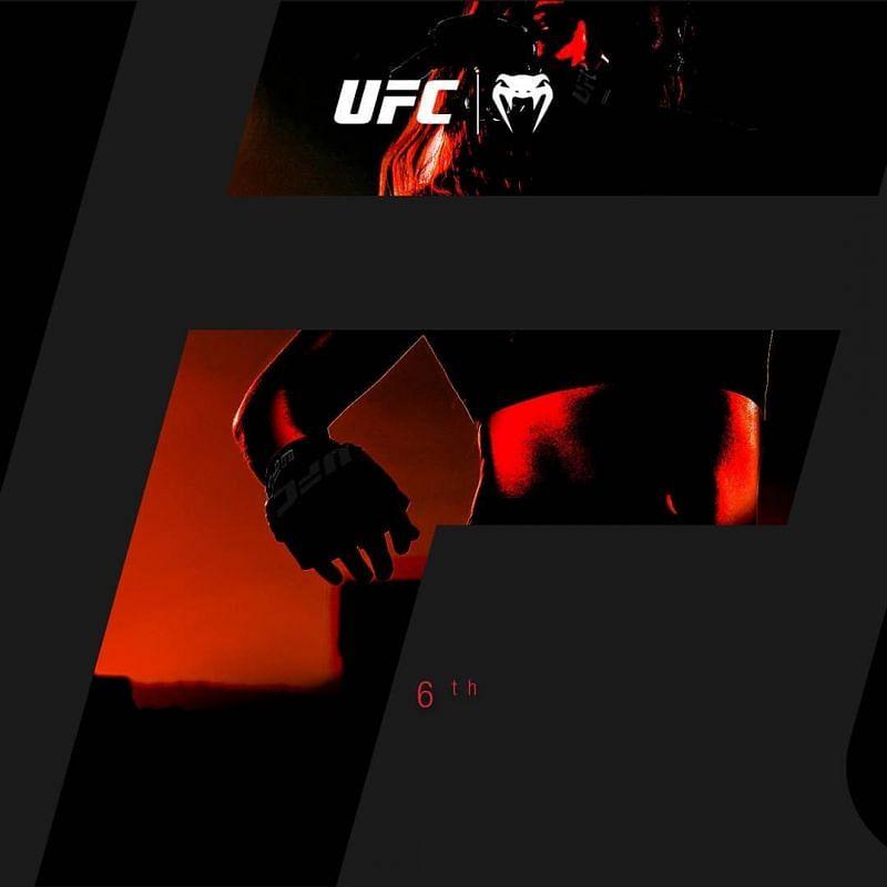 Valentina Shevchencko in the UFC Venum shadows [@venom Instagram]