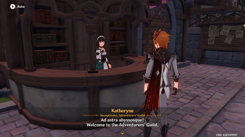 Genshin Impact NPC: Katheryne