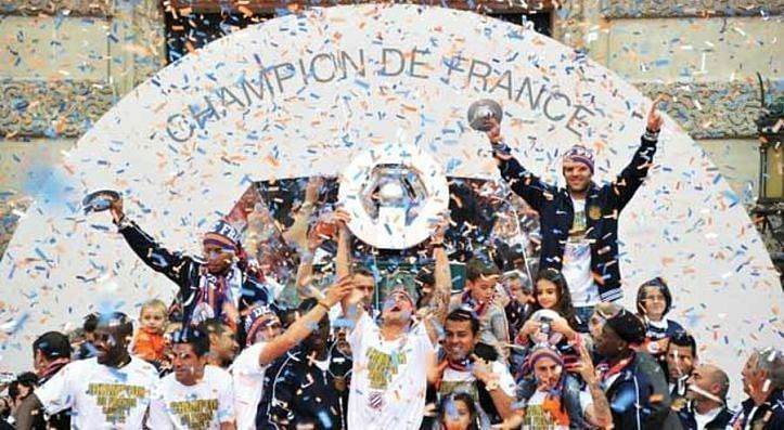 Montpellier won the 2011-12 Ligue 1 title.