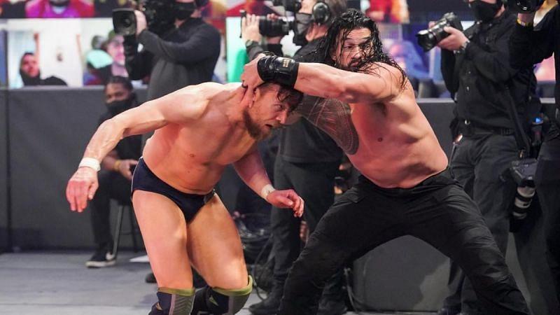 Roman Reigns defeated Daniel Bryan at WWE Fastlane 2021