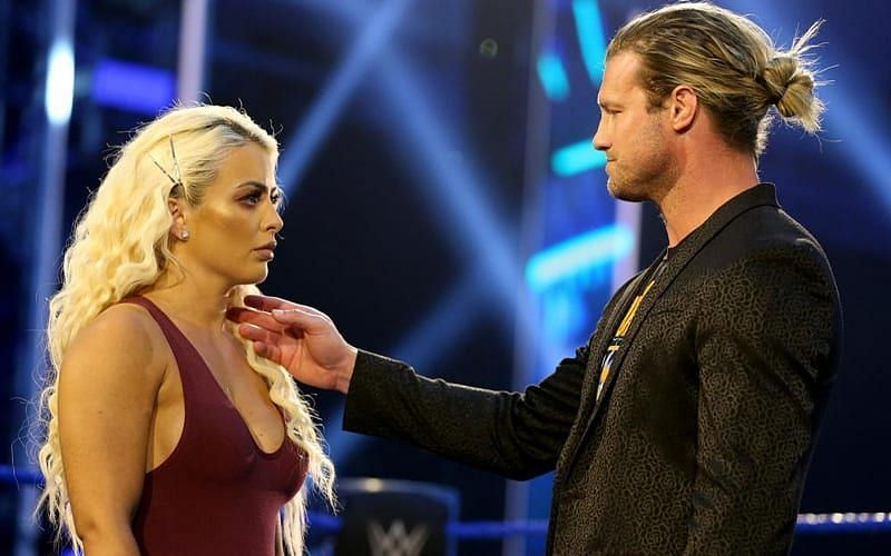 Mandy Rose has no time for Dolph Ziggler