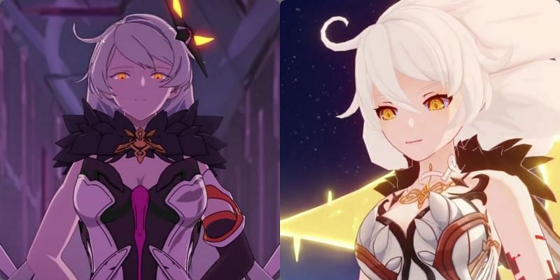 The Unknown God looks like Herrscher of the Void from Honkai Impact 3rd