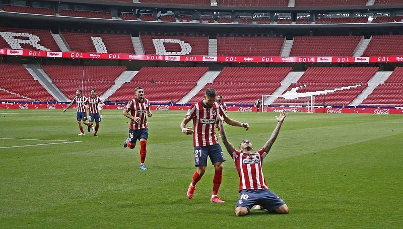 Atletico Madrid remain top of La Liga after beating Huesca