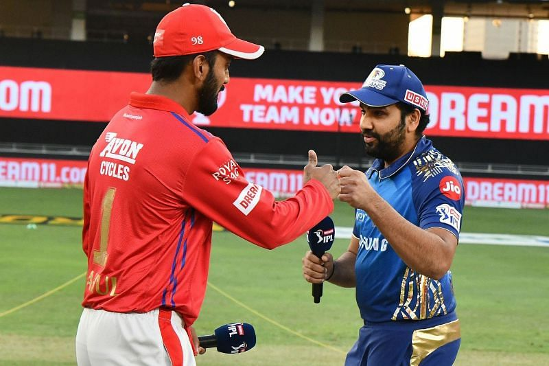Both PBKS (left) and MI (right) would look to end their Chennai leg with a win. (Image Courtesy: IPLT20.com)