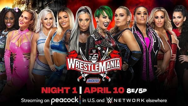 Notice Carmella and Billie Kay on the far right.