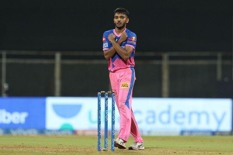 Chetan Sakariya. Pic: IPLT20.COM
