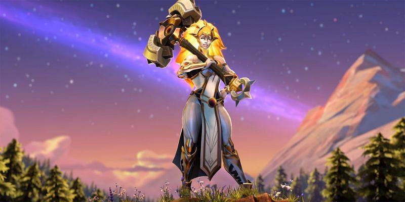 Valora, the Dawnbreaker. (Image via Valve)
