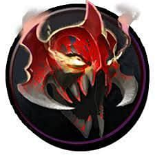 The mask of madness build from a Morbid Mask and a Quarterstaff (Image via Dota 2 wiki)