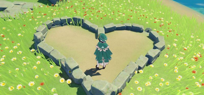 The mysterious heart (Image via Genshin Impact)