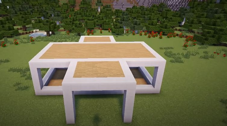 Now, the outline of the mansion must be filled in (Image via YT, Greg Builds)