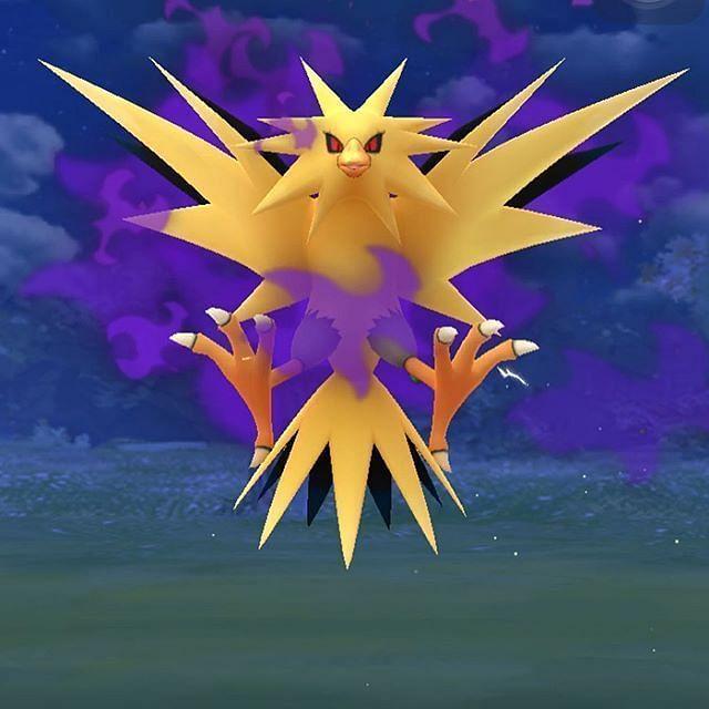 Shadow Zapdos in Pokemon GO (Image via Niantic)