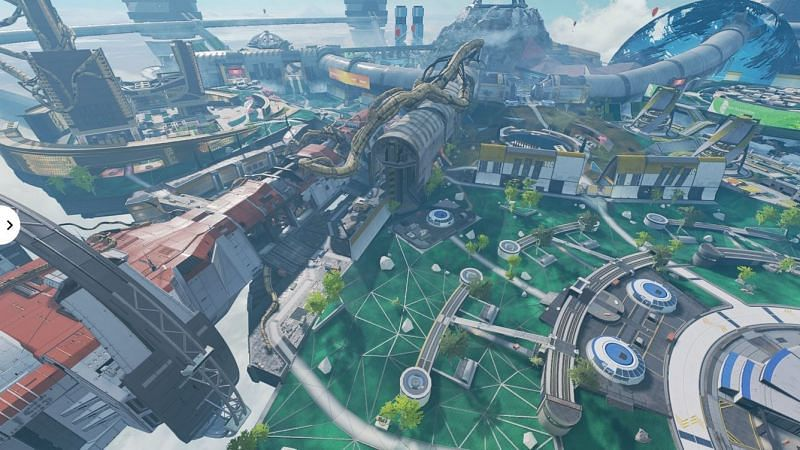 The Icarus has landed on Olympus, changing the landscape of the map forever (Image via Electronic Arts)