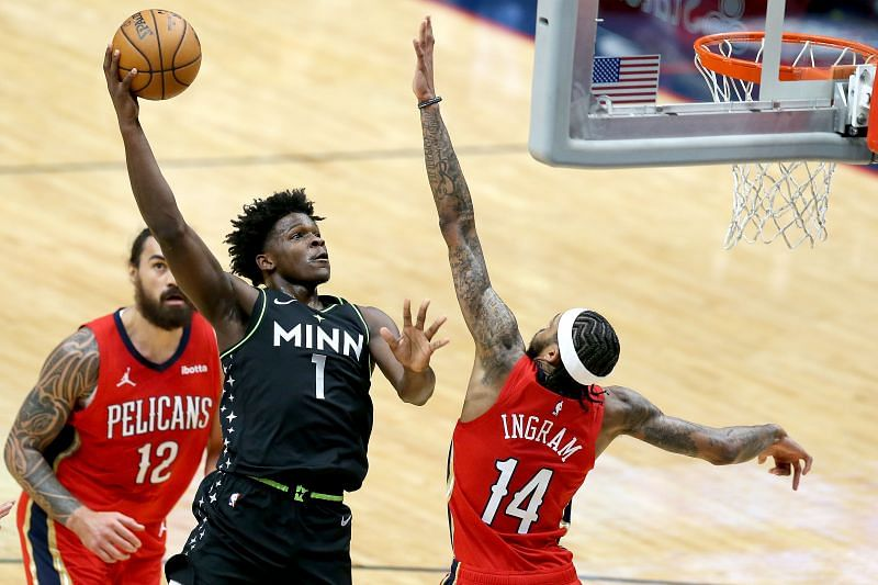 Minnesota Timberwolves Anthony Edwards has been immense since arriving in the league