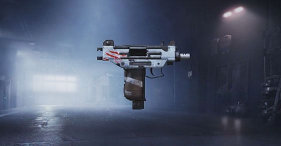 Uzi is an SMG weapon with a high fire rate