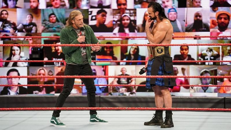 Could Drew McIntyre vs. Edge take place sometime after WrestleMania?