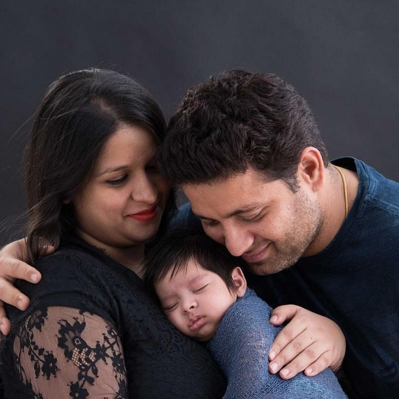Piyush Chawla with Family