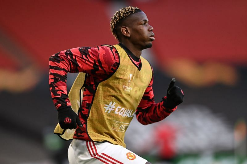 Paul Pogba starred in midfield for Manchester United