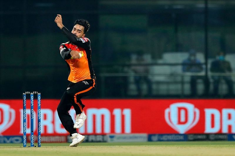 Rashid Khan picked up three, but only after the result was a foregone conclusion.