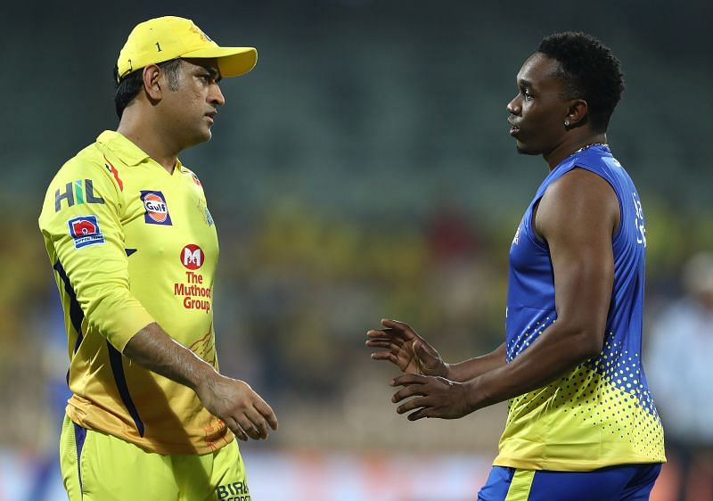Dwayne Bravo is not playing against the Kolkata Knight Riders