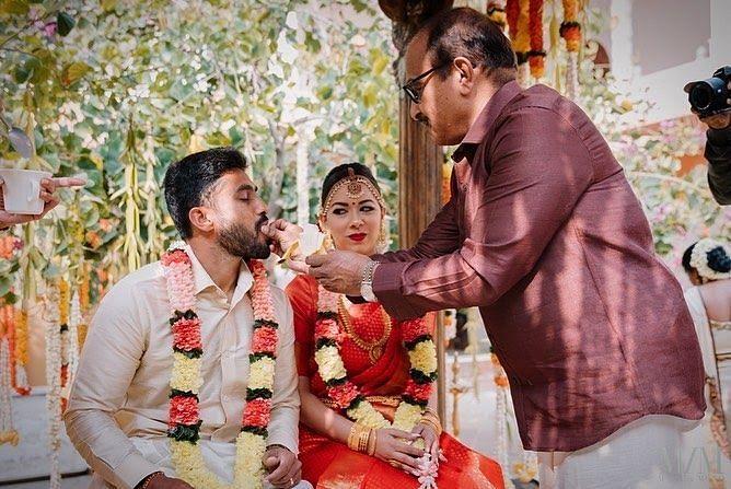 Karun Nair and Sanaya Tankariwala's Lovely Marriage rituals