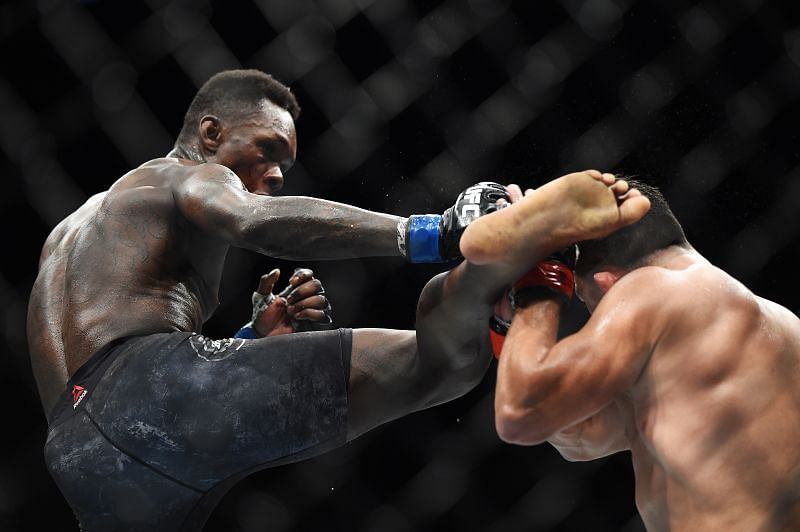 Israel Adesanya has cleared out the UFC middleweight division