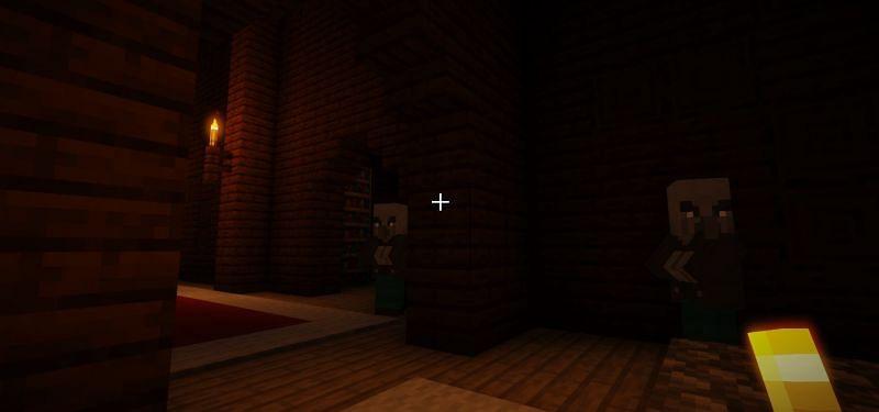 Shown: A few Vindicators plotting their next move (Image via Minecraft)