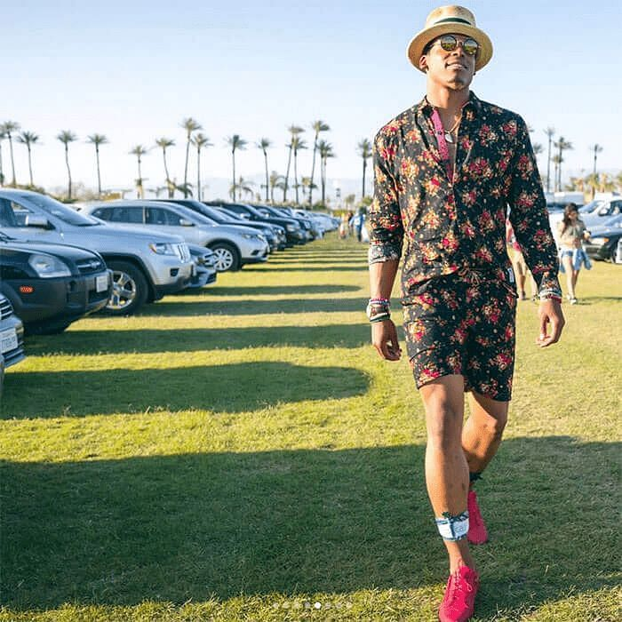Cam Newton Stylish outfit