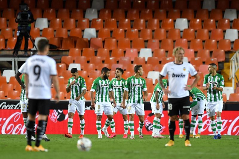 Valencia take on Real Betis this weekend