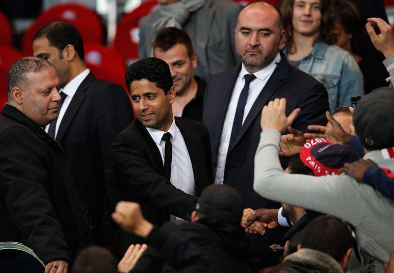 Nasser Al-Khelaifi - President of Paris Saint-Germain