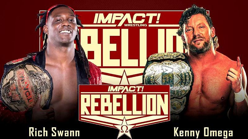 AEW World Champion Kenny Omega and IMPACT World Champion Rich Swann faced off at Rebellion in what may end up being the most significant match of 2021