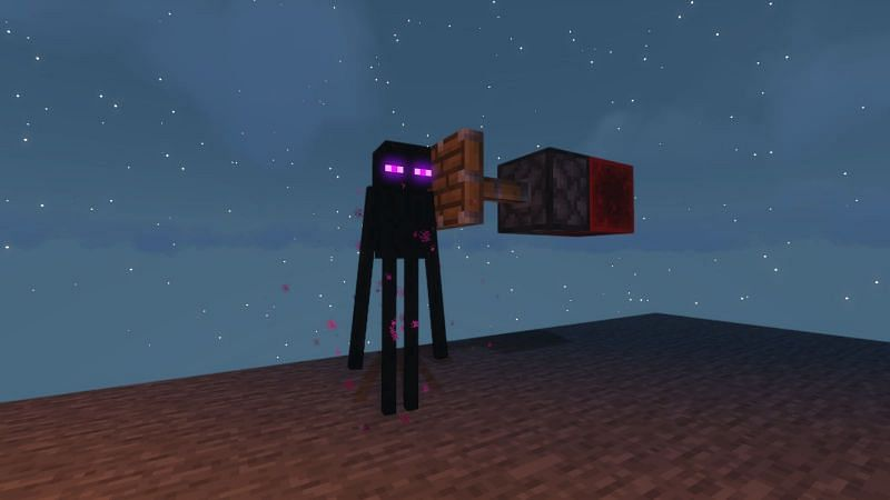 Some Mobs may change how you approach the farm. For example, Endermen teleport out of water and therefore must be either pushed with Pistons or lured with an Endermite.