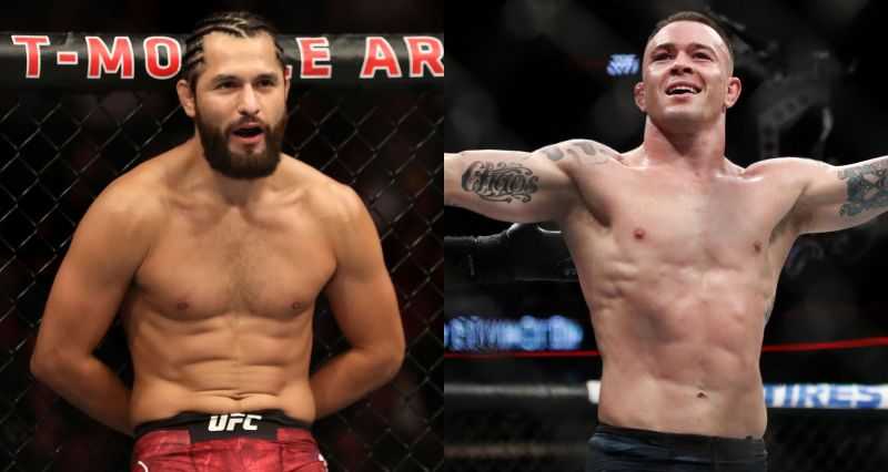 Jorge Masvidal (Left) and Colby Covington (Right)