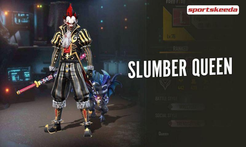 Slumber Queen's Free Fire ID is 525471774
