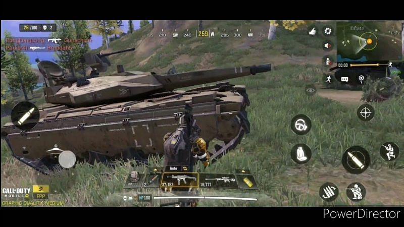 New Tank Glitch [Image Via YouTube/Badwolf Gaming]