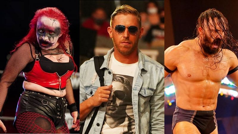 AEW wrestlers who maintain the art of kayfabe.