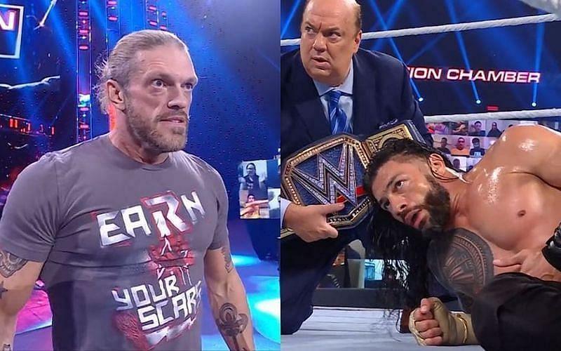 WWE Wrestlemania 37 की यूनिवर्सल चैंपियनशिप फ्यूड