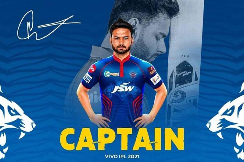 ऋषभ पंत बतौर कप्तान अपना पहला आईपीएल सीजन खेलेंगे