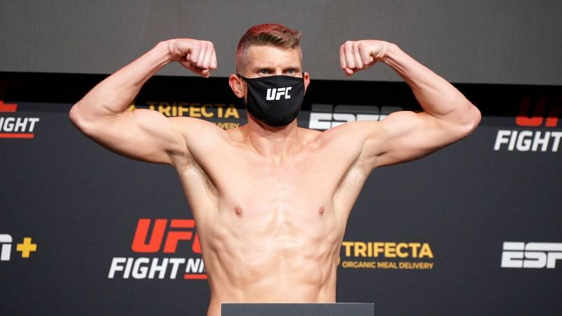Stephen Thompson during the weigh-ins at UFC Fight Night 183