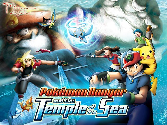 Movie art for Pokemon Ranger and the Temple of the Sea (Image via The Pokemon Company)