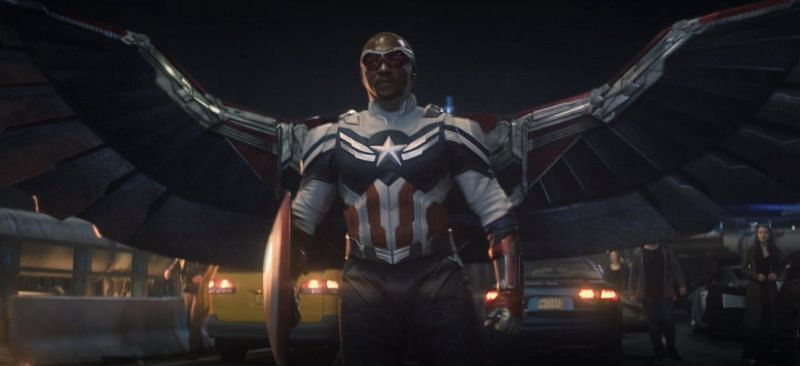 Sam Wilson is the new Captain America - The Falcon and The Winter Soldier Episode 6 (Image via Marvel)