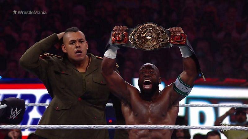 Intercontinental Champion Apollo Crews