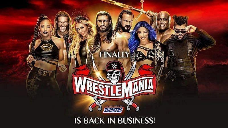 WrestleMania) 37 नाईट