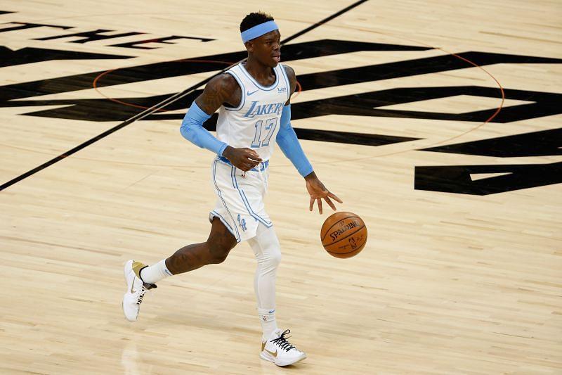 Los Angeles Lakers PG Dennis Schroder