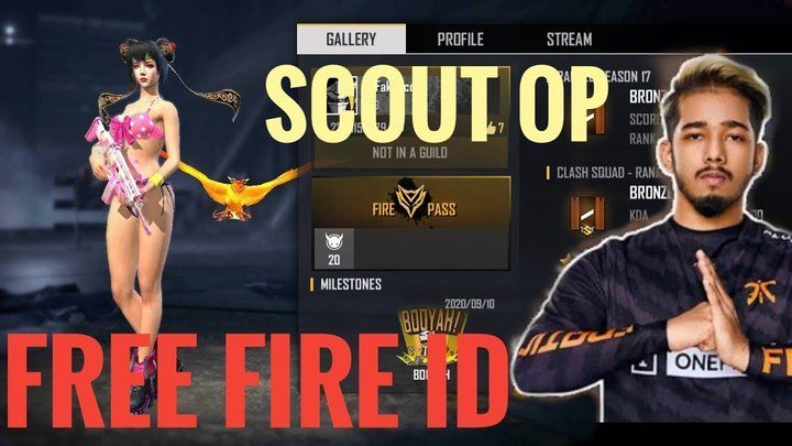 ScoutOp की Free Fire ID