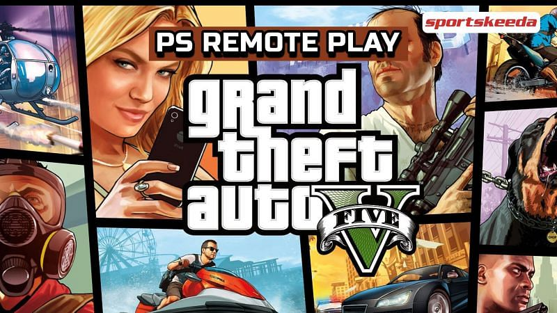 GTA 5 can now be played on Android devices with the help of Steam Link and PS Remote Play (Image via Sportskeeda)