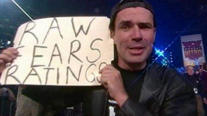 Eric Bischoff often mocked WWE on WCW programming