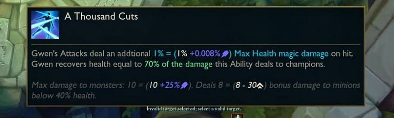 Maximum damage to monsters will be 10+25% AP (Image via Surrender@20)