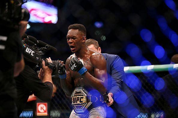 Israel Adesanya - UFC Middleweight Champion