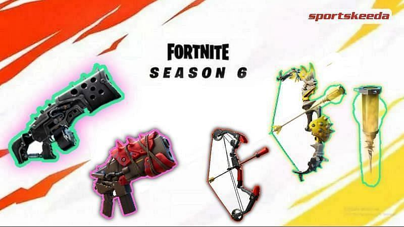 Fortnite Season 6 leak hints at new Mythic Primal Rifle, Exotic weapons and new Bows arriving with upcoming updates